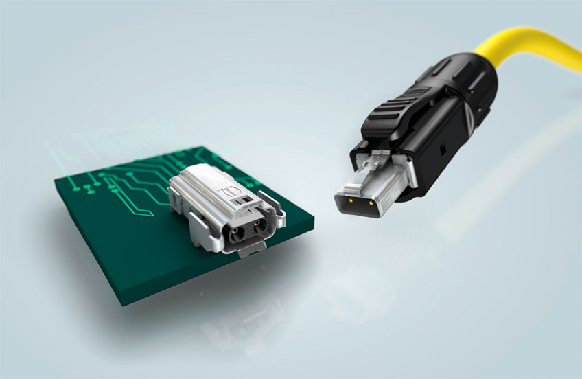 SPE-Infrastruktur und damit Investitionssicherheit auf Anwenderseite. Auf dieser Basis kann ein umfassendes Portfolio für den Single Pair Ethernet Markt entstehen.