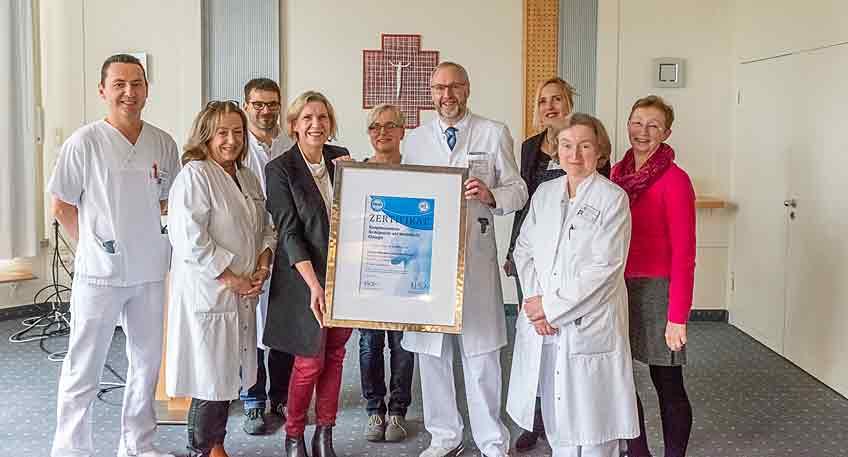 Auszeichnung Adipositaszentrum LK