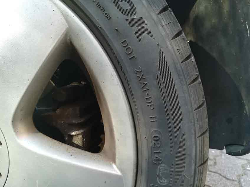 TÜV-Nord Reifentipp DOT Nummer
