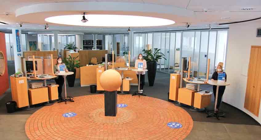 Volksbank-Wiedereröffnung