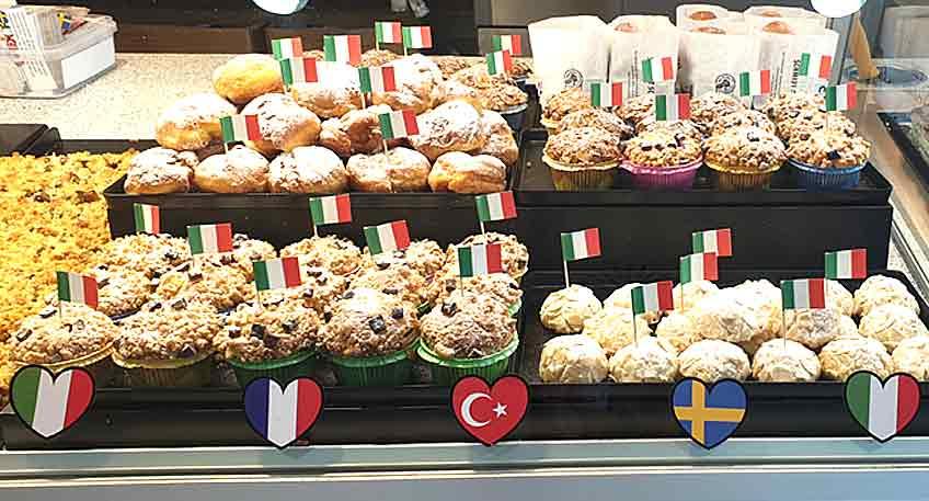 italienischen Wochen Bäckerei Schmidt