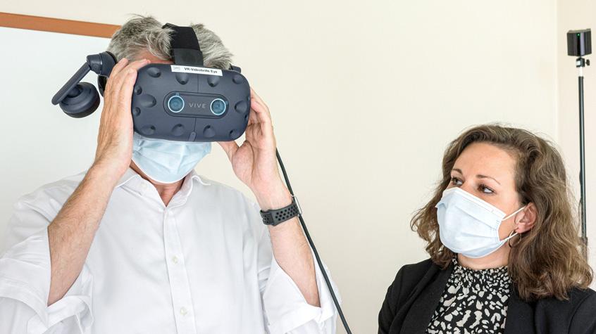 Angsttherapie per VR