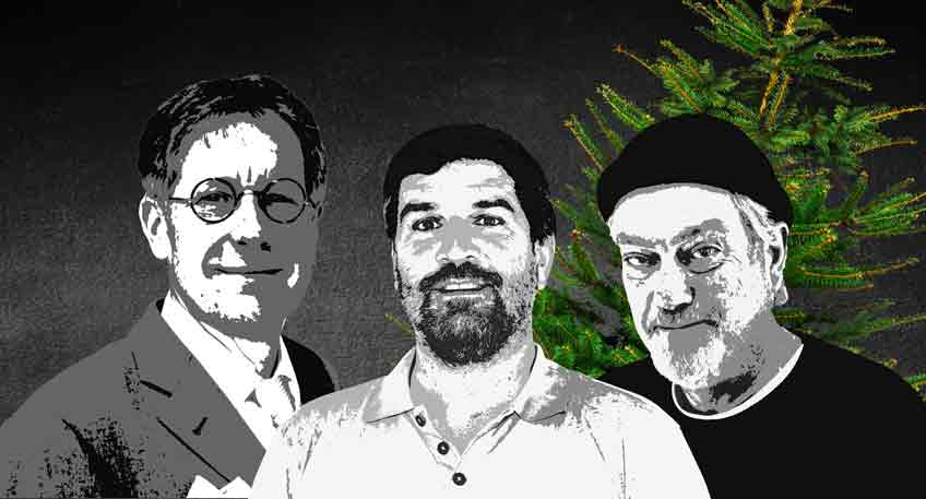Drei Herren in Not
