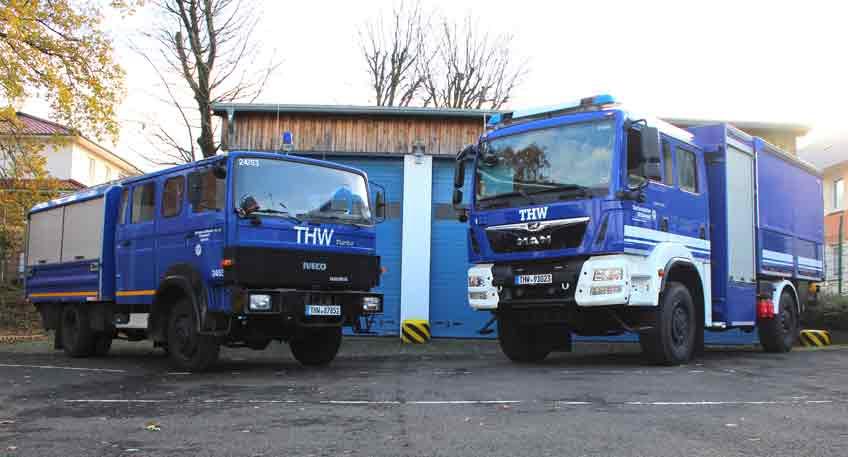Neues THW-Fahrzeug LK