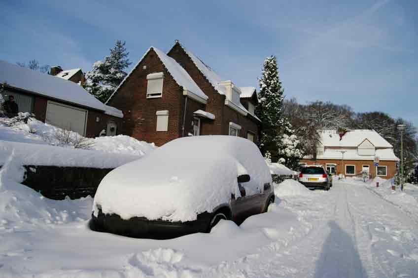 TÜV - Winter parken