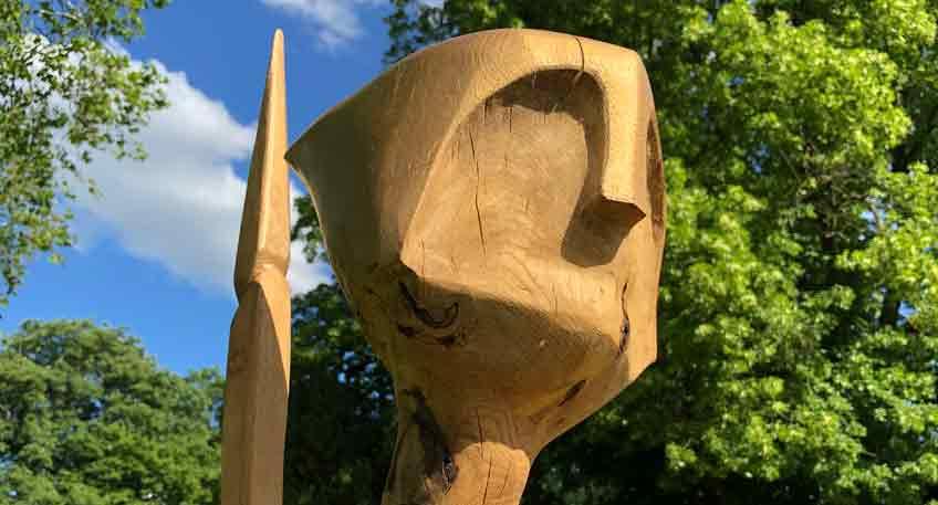 Skulpturenwettbewerb 2021 Schloss Benkhausen