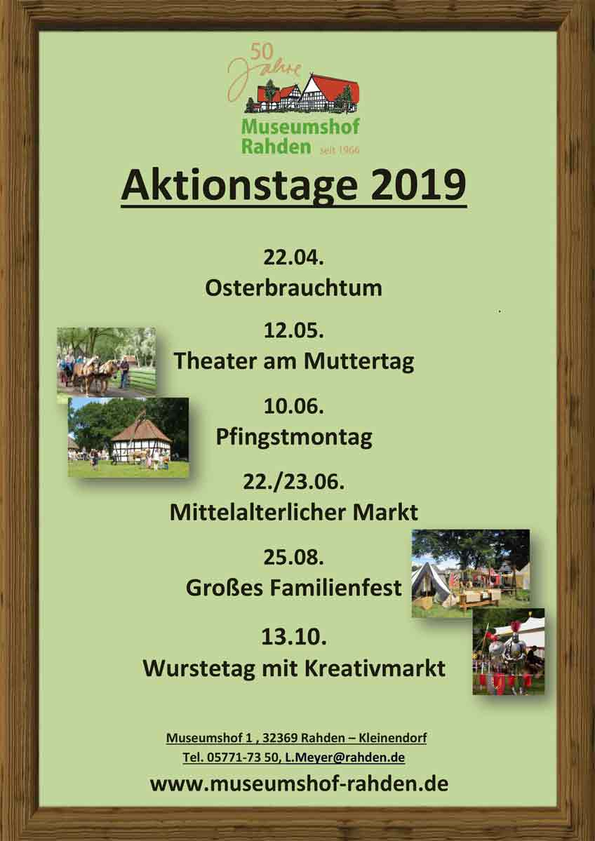 Aktionstage Museumshof 2019