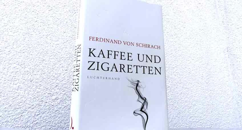 Buch Kaffee und Zigaretten