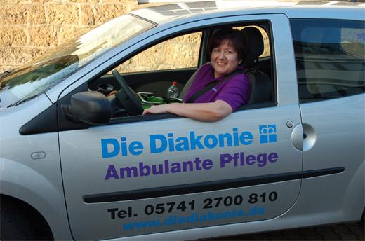 Die Mitarbeiterinnen und Mitarbeiter der Ambulanten Pflege leisten überall im Altkreis Lübbecke vielseitige und umfassend qualifizierte Arbeit der Krankenpflege zu Hause.