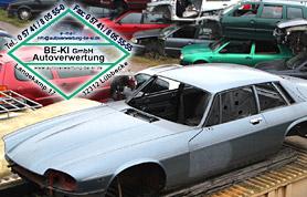 Ersatzteile und Autoverwertung auf dem Schrottplatz