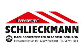 Wenn es um das Thema Dach geht, kommt man in Hüllhorst und Umgebung am Handwerksbetrieb Bedachungen Schlieckmann nicht vorbei. Das Familienunternehmen wurde 1967 von Dachdeckermeister Hans-Hermann Schlieckmann gegründet. Mit sorgfältiger Arbeit, Flexibilität und Zuverlässigkeit hat sich das Schlieckmann-Team seitdem Anerkennung und einen guten Ruf bei den Kunden erworben.