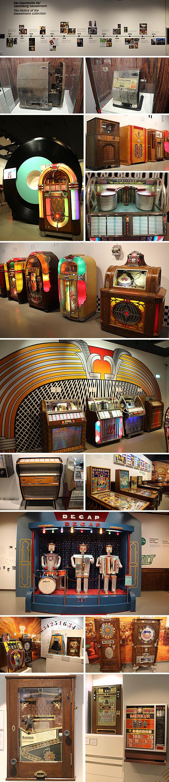 Für die breite, interessierte Öffentlichkeit werden im Deutschen Automaten Museum (DAM) am Schloss Benkhausen dauerhaft etwa 200 historische Exponate präsentiert
