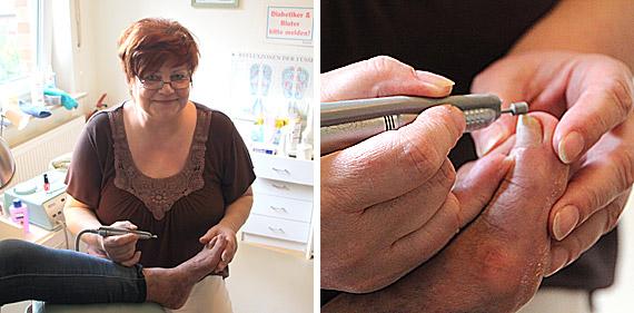Menschen mit Fußproblemen nach Möglichkeit wieder zu einem schmerzfreien Gehen zu verhelfen, hat sich Karin Borchard zur Aufgabe gemacht.