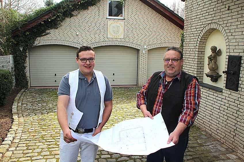 Klaus und Fabian Harland, Harland Bau GmbH