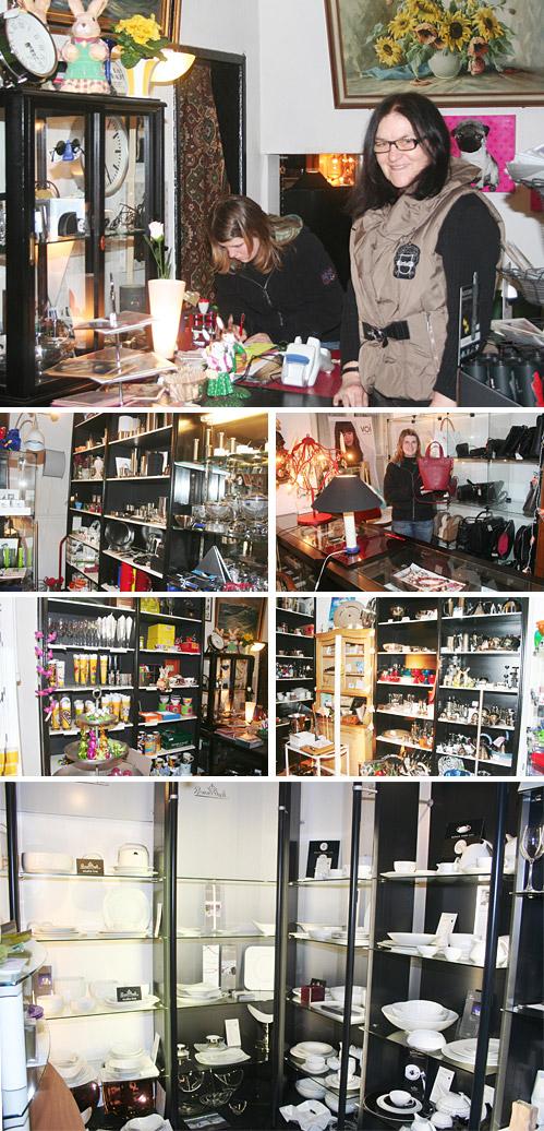 """Wem ist """"DAS HAUS"""" in Lübbecke, Am Markt 1, nicht bekannt?! Seit mehr als zwei Jahrzehnten gehört dieses Geschäft zum Innenstadtbild von Lübbecke. Wohl jeder Passant schaut gern in die Schaufensterauslagen oder betritt den Laden, um zu stöbern, sich inspirieren zu lassen und letztlich etwas Schönes zu erstehen. Denn das Angebot in Karin und Dieter Wiegmanns """"Haus"""" ist groß. Für jeden Geldbeutel und jeden Geschmack ist etwas dabei. Das vielfältige Sortiment hat sich im Laufe der Jahre entwickelt und wird immer den neuesten Trends und den Kundenwünschen angepasst. Sollte nicht gleich das Gesuchte vorhanden sein, können viele Produkte auch direkt bei den Herstellern bestellt werden."""