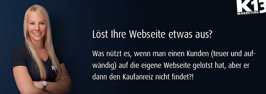 K 13 Werbung Swantje