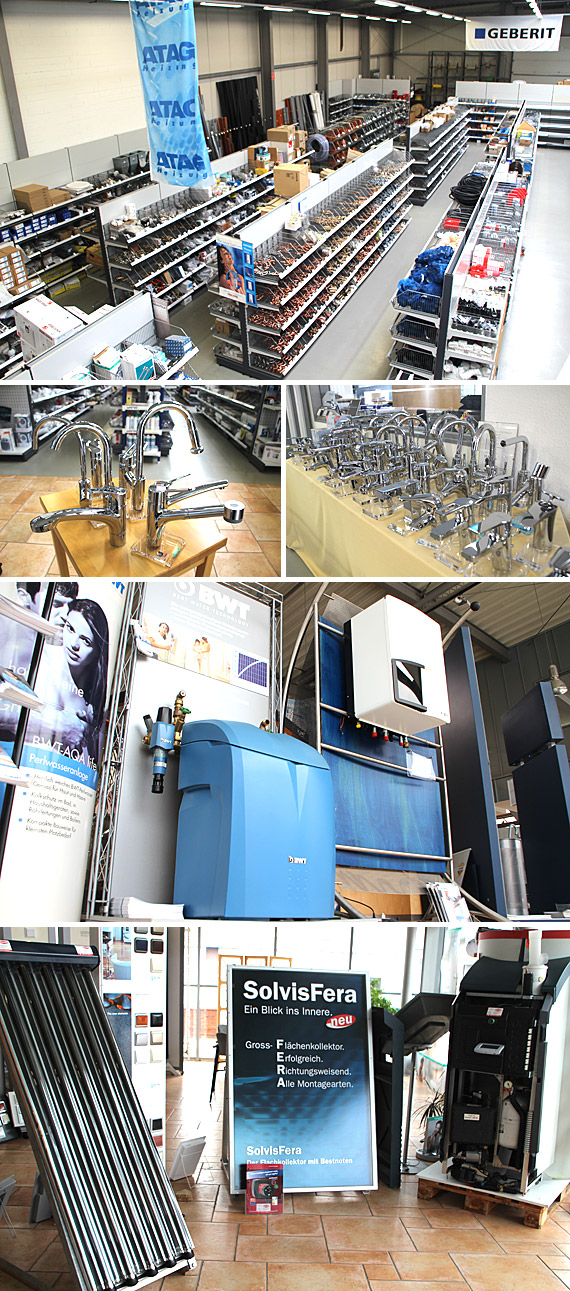 Im Geschäftsbereich Sanitär verfügt H. Kemmener GmbH & Co KG als zertifizierter Geberit Quadro Partner über höchste Kompetenz
