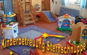 Die Sternschnuppe-Räume sind hell, freundlich und kindgerecht eingerichtet.