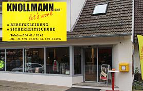 """Die bei """"Knollmann Berufsbekleidung"""" angebotene Arbeitskleidung ist tragbar für Jedermann - auch im Freizeitbereich."""