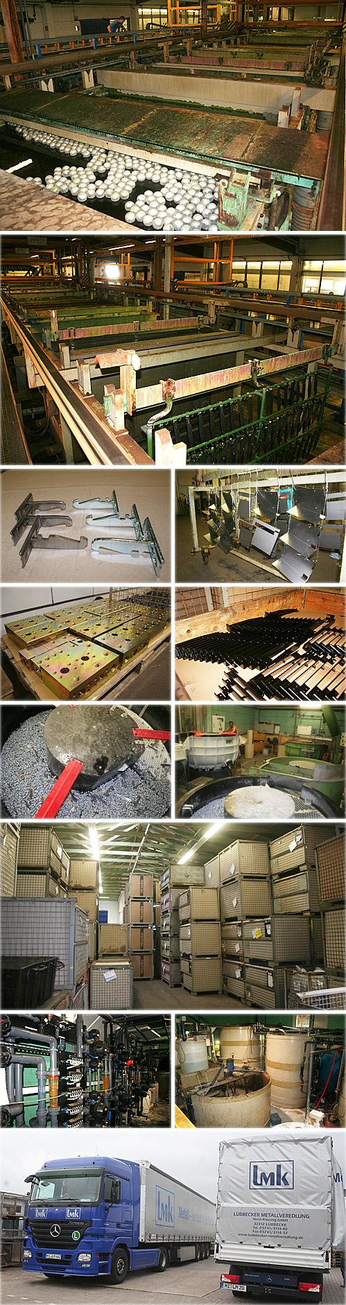 Was als Metallschleiferei und Poliererei begann, hat sich dank der Innovationsfreude und der für einen Unternehmer unerlässlichen Risikobereitschaft zu einem Spezialbetrieb für Oberflächen-Veredelung entwickelt: Mitte der 1960-er Jahre gründete Horst Klausing sein Familienunternehmen Lübbecker Metallveredelung Klausing (LMK) - damals noch in Räumen an der Gerbergasse im Stadtzentrum von Lübbecke, baute es kontinuierlich aus und zog 1982 in einen Neubau im Industriegebiet an der Boschstraße 5 um. In der neuen Halle mit 600 Quadratmetern beschäftigte er drei Mitarbeiter. Heute beträgt die Produktionsfläche rund 3.000 Quadratmeter, und LMK hat 37 Beschäftigte. 2002 trat Sohn Denis nach Beendigung seiner Ausbildung zum Galvanotechniker und Meister als weiterer Geschäftsführer in das Familienunternehmen ein.