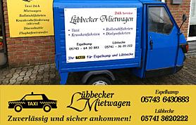 Mietwagen & Fahrten, Transporte, Transfer rund um die Uhr