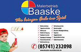 2005 gründete Thomas Baaske seinen Malerbetrieb.