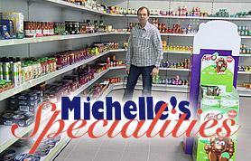 """Für jeden Verbraucher sind türkische, griechische oder asiatische Supermärkte mittlerweile selbstverständlich. Wer allerdings Produkte von der """"Insel"""" sucht, muss oftmals in die nächste Großstadt fahren oder sich bei einem Kurztrip nach Großbritannien mit dem Gewünschten eindecken. Und genau diese Situation brachte Michelle Tame und ihren Ehemann Stefan Heinrich auf die Idee, britische Lebensmittel in größerem Umfang anzubieten. Was zuerst nur eine """"Schnapsidee"""" war, stellte sich ziemlich bald als gute Geschäftsidee heraus."""