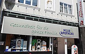 Hautpflege im Fokus der Neue Apotheke, Lange Str., Lübbecke