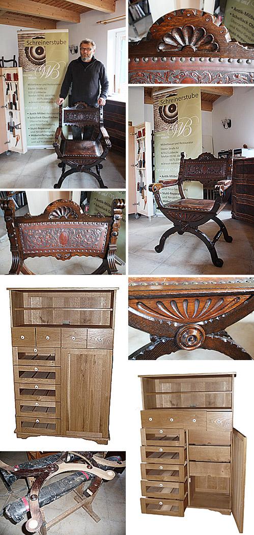 Das Arbeiten und Leben mit Holz war - und ist - schon immer die Profession von Walerij Braun.