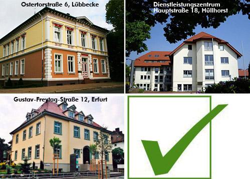 Einen Weg durch den deutschen Steuerdschungel zu finden ist nicht leicht. Dabei hilft Eberhard Schröder seinen Klienten mit seiner ganzen Erfahrung. Der Diplom-Finanzwirt, Steuerberater und Vereidigte Buchprüfer gründete seine Kanzlei 1972 in Hüllhorst. 1990 bzw. 1998 kamen Niederlassungen in Erfurt und Arnstadt in Thüringen dazu. Und in 2009 eröffnete er eine weitere Niederlassung in Bürogemeinschaft mit der Anwaltskanzlei Goebel & Kresken in Lübbecke, Ostertorstraße 6.