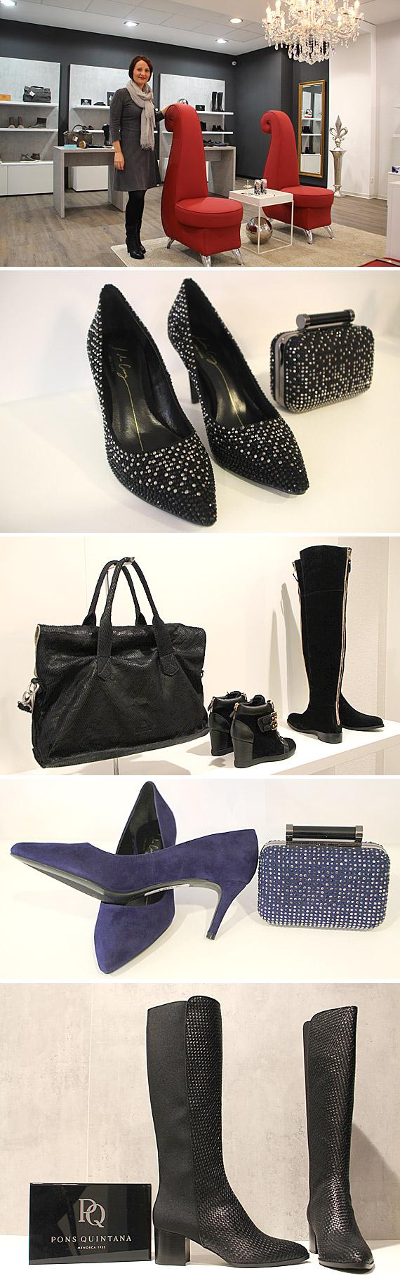 Die Leidenschaft für Schuhe teilt Sabine Schrewe mit vielen Frauen.