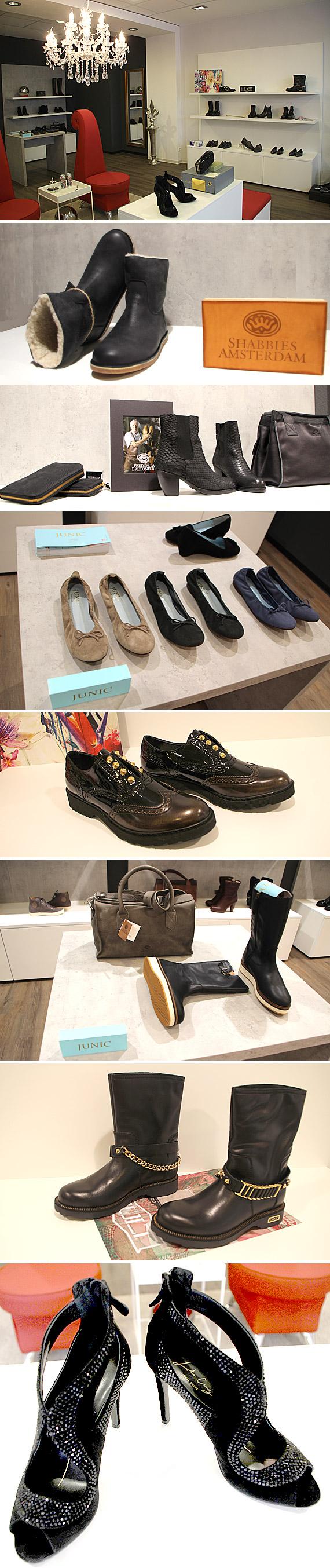 """""""Alle Schuhe sind tragbar, komfortabel und bezahlbar, aber auch ihren Preis wert"""", sagt Sabine Schrewe"""