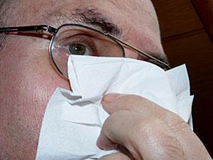Es passiert ganz plötzlich und immer zum falschen Zeitpunkt, dauert gewöhnlich nur einige Minuten, ist in der Regel harmlos und der Blutverlust minimal: Nasenbluten (Epistaxis).