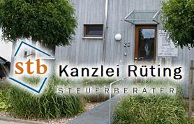 Gegründet wurde die Steuerberatungskanzlei am 1. Oktober 1985 von Karl-Friedrich Rüting. 1987 stieß Birgit Sturhann-Rüting hinzu; am 1. April 1993 wurde die Sozietät mit Rolf Rüting fixiert. Mit dann bereits sechs Mitarbeitern zog die Kanzlei am 1. Januar 1994 in das damals neu gebaute Bürogebäude an der Hahler Straße 23 in Lübbecke um. Zwei Jahrzehnte später, am 1. April 2014, trat Tanja Klemenz als verantwortliche Partnerin in die Kanzlei ein und brachte dabei ihr Team mit. Der personelle Zuwachs machte eine räumliche Erweiterung erforderlich, die im Mai 2017 begann und mit der Fertigstellung des Kanzleianbaus am 1. Mai 2018 endete.