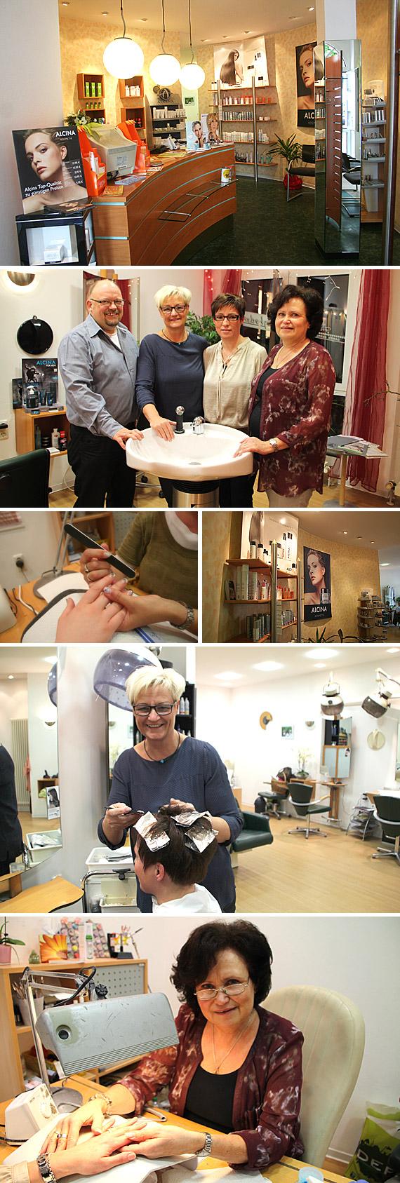 Neben den Standard-Dienstleistungen – Waschen, Schneiden und Föhnen – bieten Bernd und Marion Telgheder mit ihrem Team auch einen Außer-Haus-Service an.