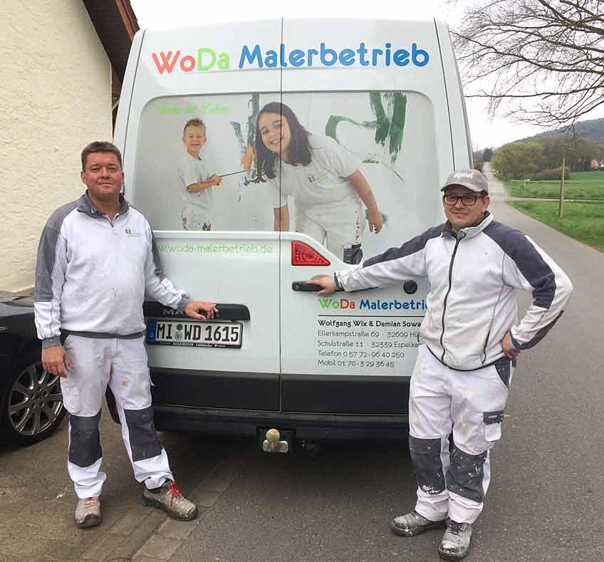 Verantwortung und Entscheidungsfreiheit: Das sind für Wolfgang Wix und Damian Sowa wichtige Elemente beruflicher Selbständigkeit.