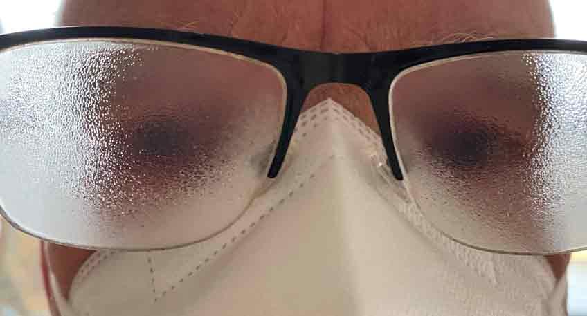 Brillen-Antibeschlag schädlich