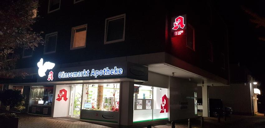 Gänsemarkt Apotheke Lübbecke