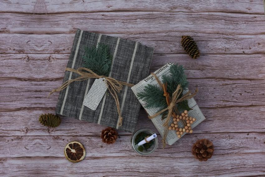 Nachhaltig schenken und verpacken