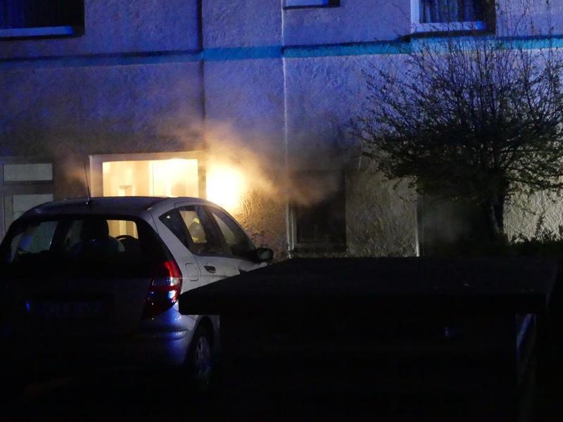 Ostersonntag 2021 Wohnungsbrand Lübbecke