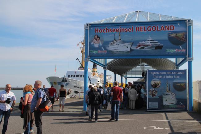 Natur und Shopping auf Helgoland