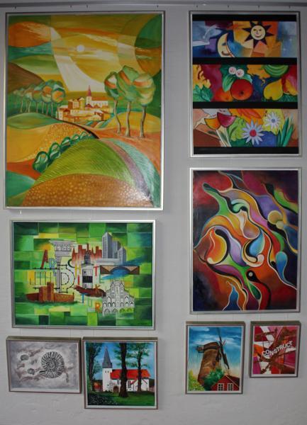 Werke von Erwin Scholz in der Alten Gießerei Espelkamp