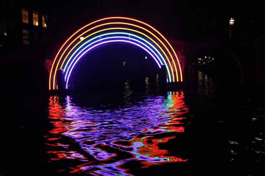 Besuch beim Amsterdam Light Festival 2017