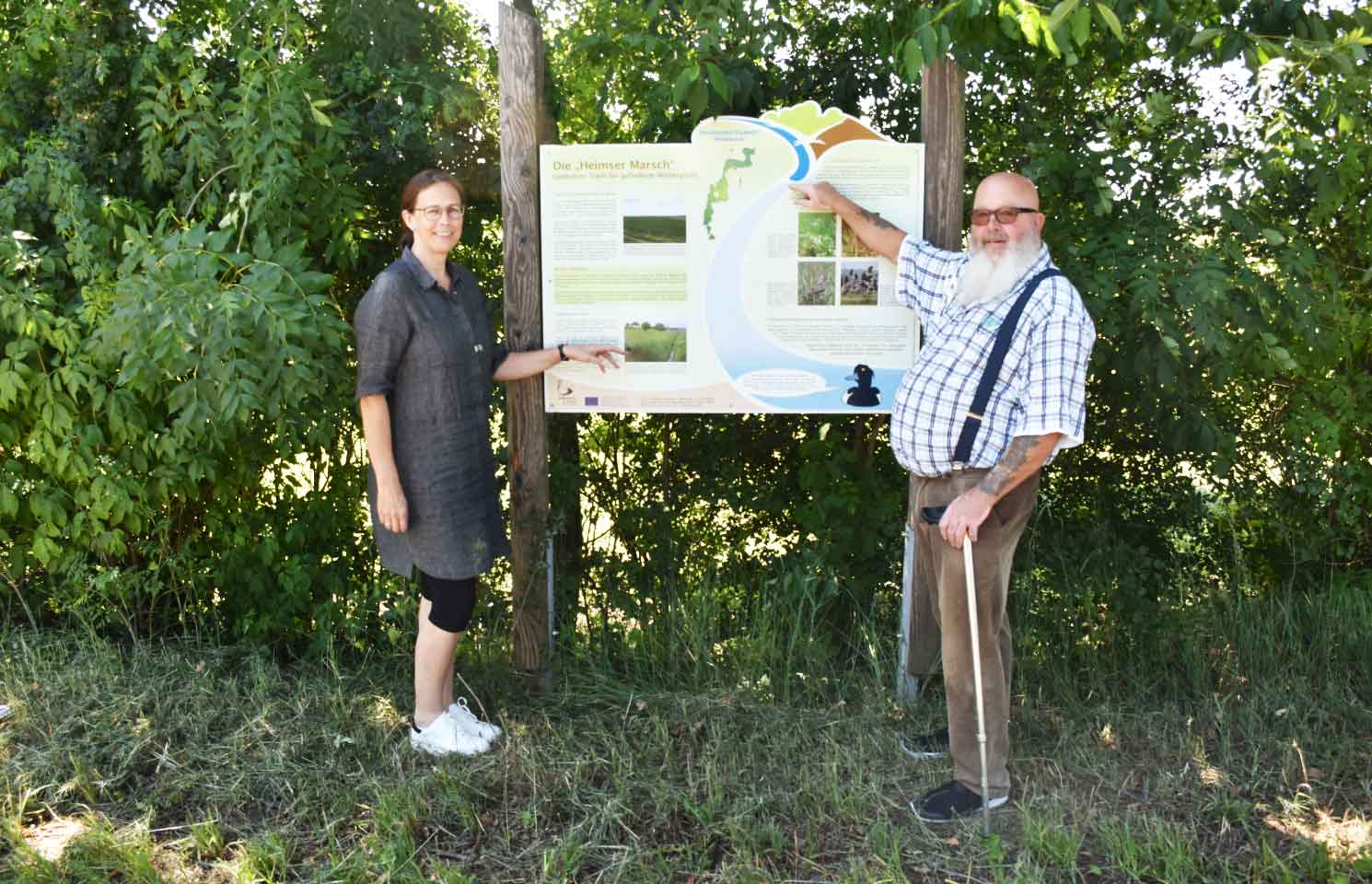 Ziel ist es, Natur und Landschaft im besiedelten und unbesiedelten Bereich so zu schützen, zu pflegen und zu entwickeln.