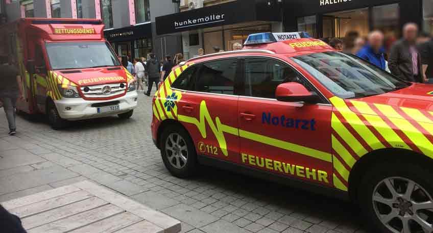 Ein 57-jähriger Arbeiter aus Bad Pyrmont ist am Montag bei einem Arbeitsunfall in Lübbecke ums Leben gekommen.