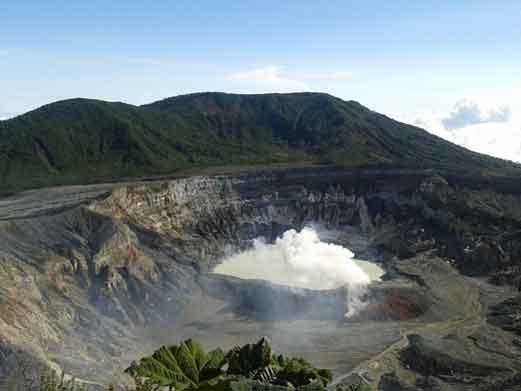 Unser Ziel heute ist also der Vulkan