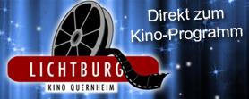 Werbe-Button Lichtburg - Kino Lemförde-Quernheim